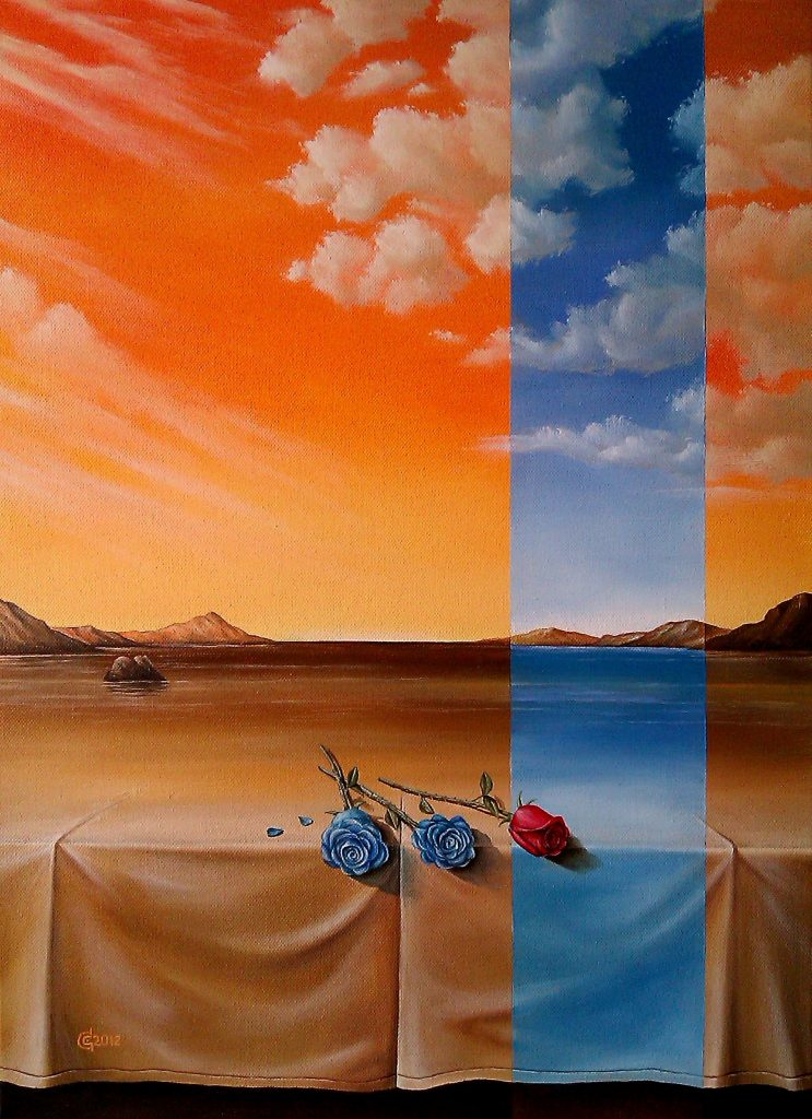 PARALLEL WORLD-oil-on-canvas41x56cm.2012-SOLD
