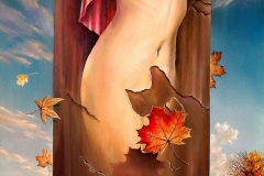 AUTUMN OF LIFE-oil-on-canvas41x56cm.2012-739x1024