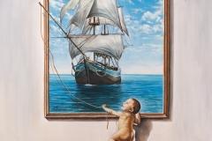 IMAGINATION-oil-on-canvas41x50cm.2011