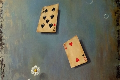 Love Games-50x50-oil on linen-2020