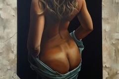 Unframed-80x55cm. oil on canvas-2019